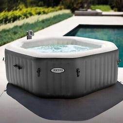 Intex 120 Bubble Jets 4 Person Octagonal PureSpa Inflatable
