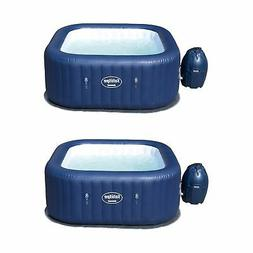 2 Pack Portable Inflatable 6-Person Spa Hot Tub Jacuzzi Hydr