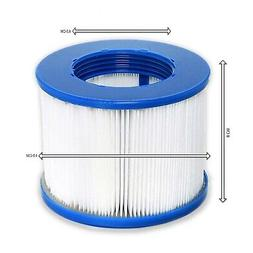 2 x Hot Tub Filters Screw on Threaded Filter Fits Most Hot T
