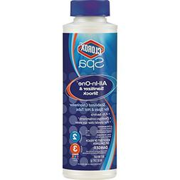 CLOROX Pool&Spa 23014CSP All-in-One Sanitizer, Blue