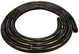 """25ft Flex Black PVC Spa Hose 1"""" ID Tubing-pipe-pond-water ga"""