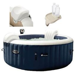 Intex 28405E Pure Spa 4 Person Inflatable Hot Tub With Headr