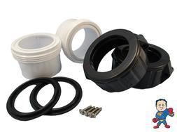 "2X Hot Tub Spa 2"" Split Nut & Union Kit for Heater Union & G"