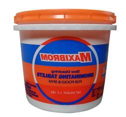Slow Dissolving Bromine Mini Tablets Hot Tubs & Spas 3.5 LB'