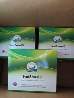 3 Boxes of Natures Sunshine Clean Start CleanStart Detox Wil