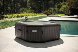 Portable Hot Tub 4 Person Inflatable Spa & Cover 120 Jets Bu