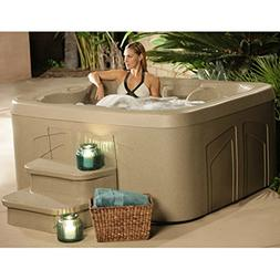 4 Person Hot Tub with 20 Stainless Steel Jet Plug & Play Spa
