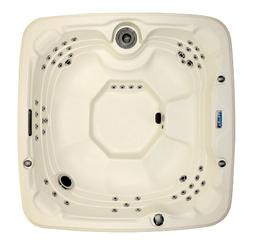 Lifesmart 600DX 7-Person Rock Solid Spa with 65 Jets and Fre