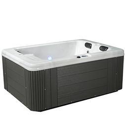 Essential Hot Tubs SS244247403 Devotion-24 Jet Hot Tub, Grey