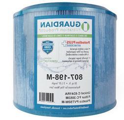 Antimicrobial Spa Filter - Fits Unicel C-8341RA Pleatco PMA4