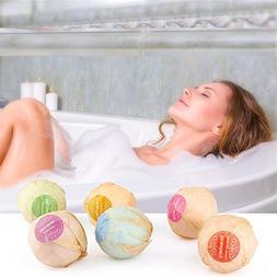Euone Bath Bombs, Organic Bath Bombs Bubble Bath Salts Ball