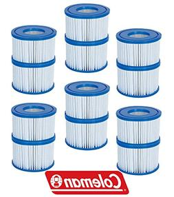 12 Pack Bestway Coleman Type VI Spa Filter Cartridge for Lay