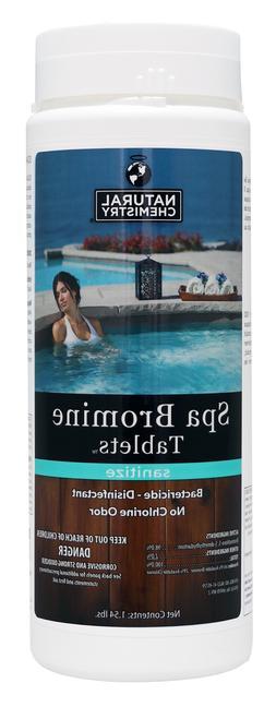 Natural Chemistry Bromine Tablets for Hot Tubs & Spas 1.54 L