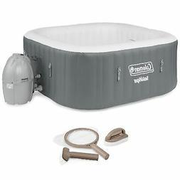Coleman SaluSpa 4 Person Portable Inflatable Outdoor Hot Tub
