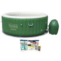 MuV Coleman SaluSpa 6 Person Inflatable Outdoor Spa Jacuzzi