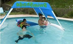 SwimShade: Floating Cabana - Shade for Swimming Pools / Lake
