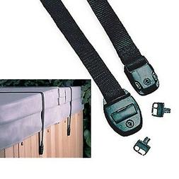 Hot Tub Cover Storm Straps x 2 Spa Safety Securestraps Pair