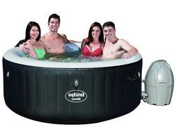 Bestway Hot Tub, Miami , Black Inflatable Saluspa New IN HAN