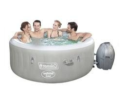 Coleman Hot Tub Spa Massage Pool Saluspa Inflatable 4 Person