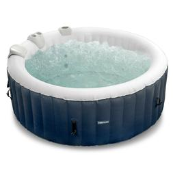 Inflatable Hot Tub 4-6 Person Blow Up Portable Spa w Heater