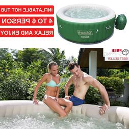 Inflatable Hot Tub 4 To 6 Person Capacity Jacuzzi Round Shap