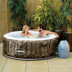 Inflatable Hot Tub Outdoor Spa Jacuzzi Tubs Portable 4 Perso