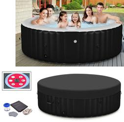 Inflatable Hot Tub Portable Spa 6 Person Heated Massage Pool
