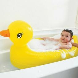 Munchkin Inflatable Saftey Duck Tub 6 - 24 Months White Hot