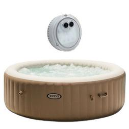 Intex Inflatable Pure Spa 6-Person Portable Heated Bubble Je