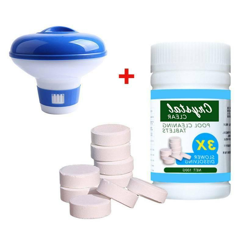1box/100PCS + Floating Chlorine Hot Tub