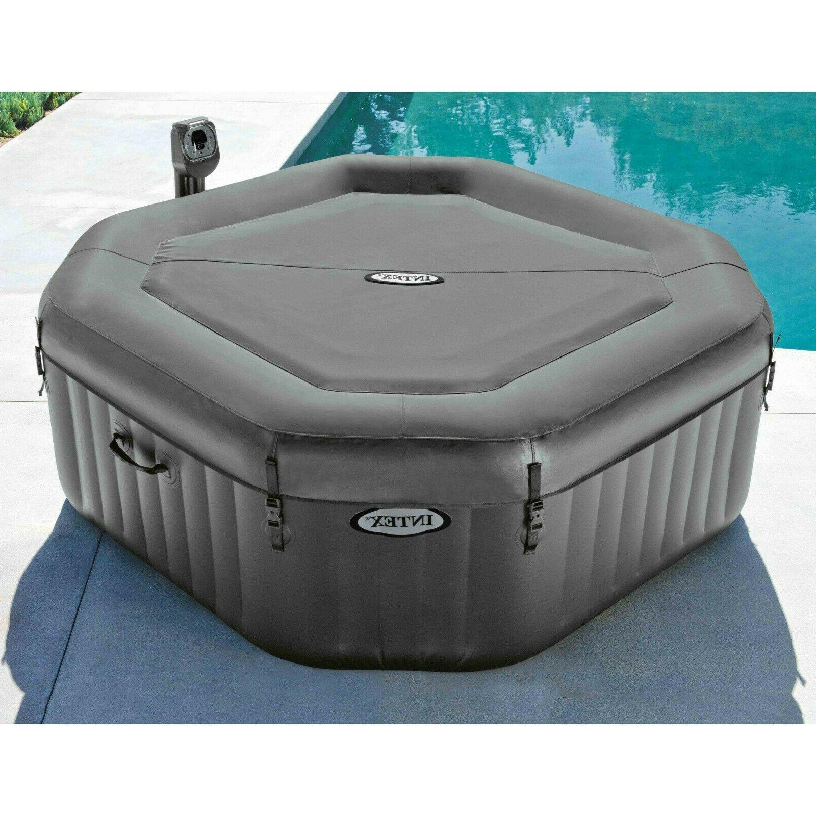 Intex 4-Person Inflatable Tub Spa Day