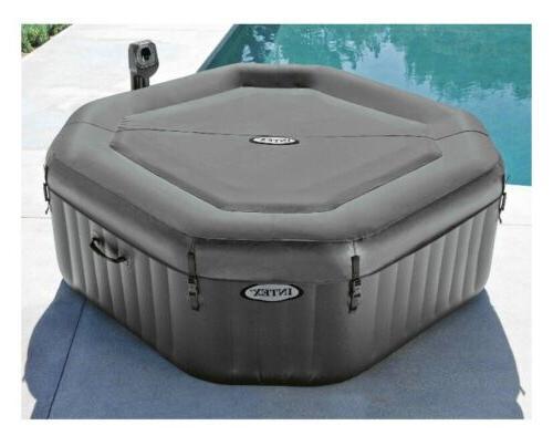 Intex 140 6-Person Octagonal Hot Tub Spa
