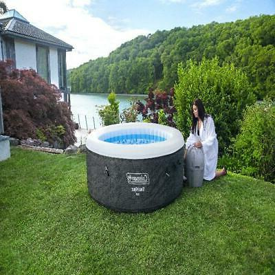 2 to 4 Inflatable Tub w/ Cover Portable Round