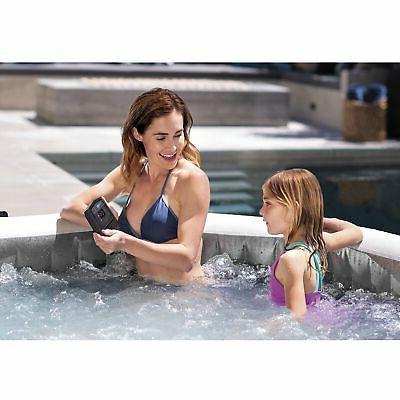 Intex Greywood Deluxe 4 Tub Bubble Spa, Grey