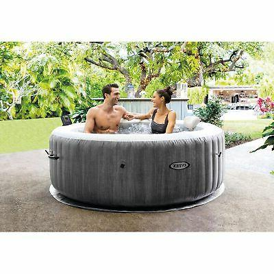 Intex Greywood Deluxe 4 Person Inflatable Tub Spa,