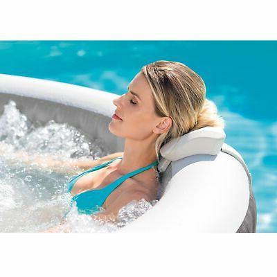 Intex 28439E Greywood Deluxe 4 Inflatable Tub Grey