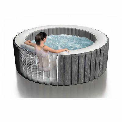Intex 4 Person Hot Tub Bubble Grey
