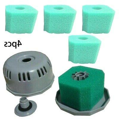 4* V1&S1 Tub+Spa Washable Sponge Filters New