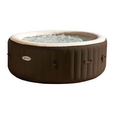 Intex PureSpa Bubble Massage 4 Person Inflatable Hot Tub Spa