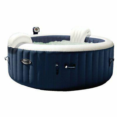 Intex Hot Tub Pure Spa Plus Bubble Massage w/ Cover Chlorine