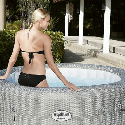 Bestway AirJet 6 Inflatable Portable Hot Tub