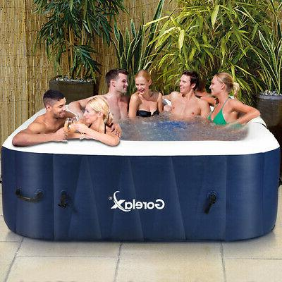 6-Person Inflatable Portable Spa Jet Leisure