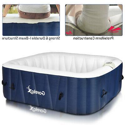 6-Person Tub Portable Jet Leisure Massage Spa