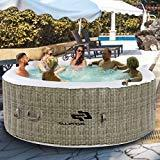 Goplus 6 Person Inflatable Hot Tub for Portable Outdoor Jets