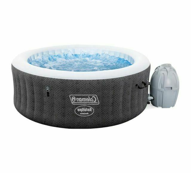 saluspa inflatable hot tub spa 120 jets