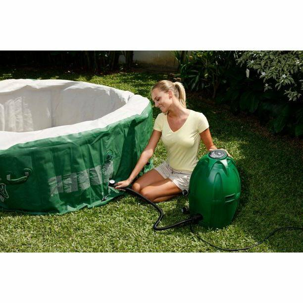 Coleman SaluSpa Inflatable w/ 4-6 Green/White