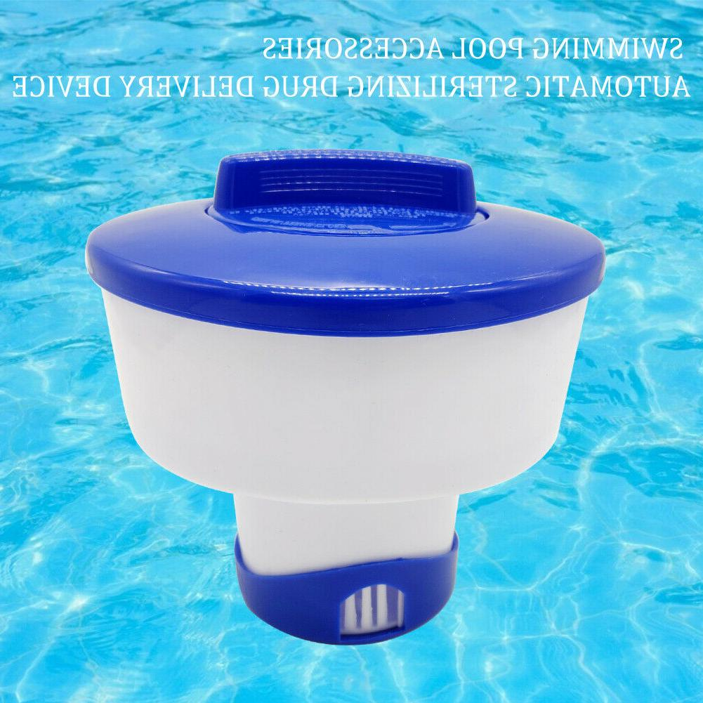 "5"" Tablets Dispenser Floater Chlorine Spa Hot Swimming Pool"