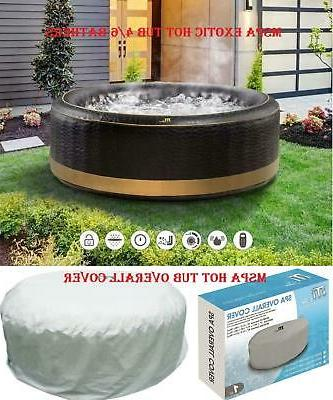exotic family inflatable hot tub 4 6