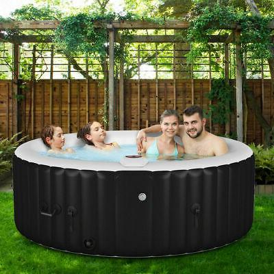 goplus portable inflatable bubble massage spa hot