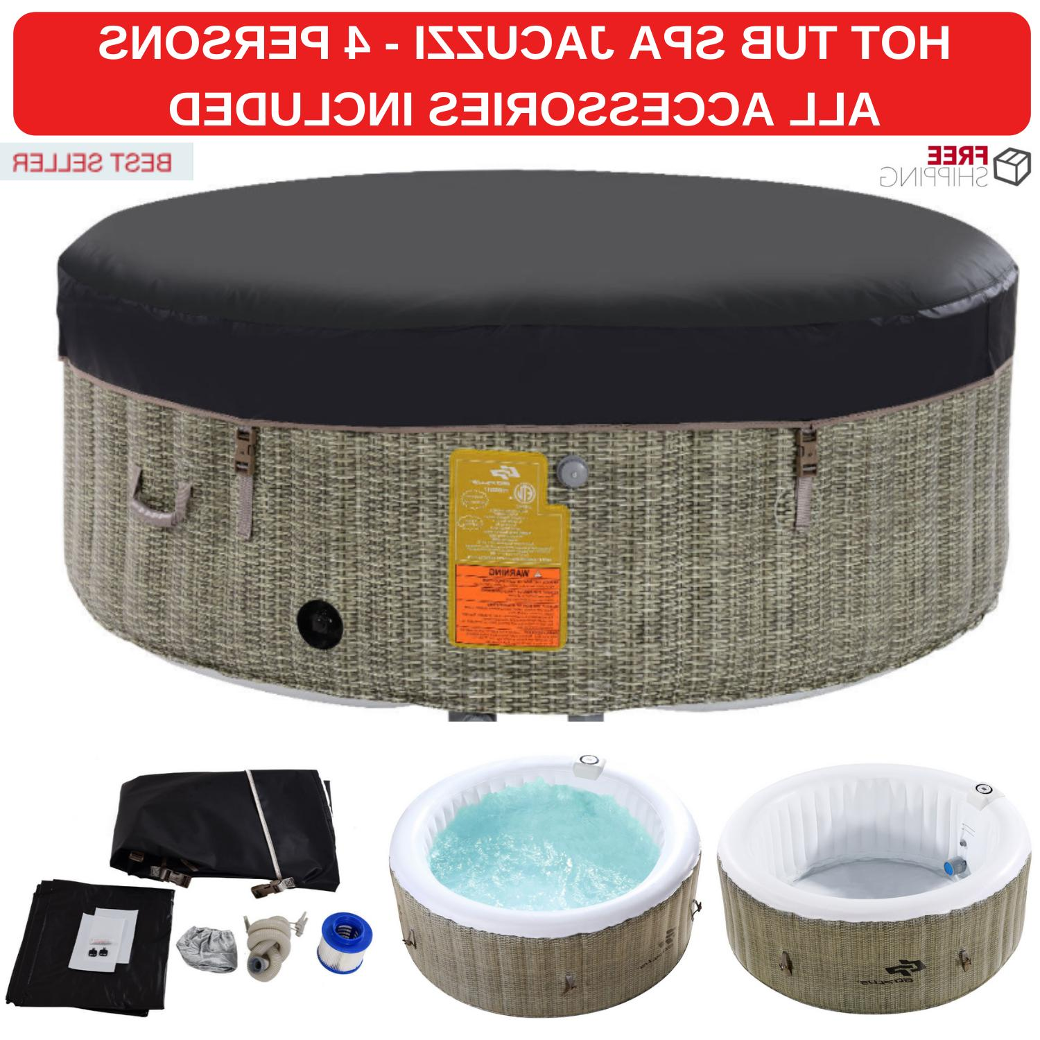 High Quality Hot Tub Spa Jacuzzi For Massage Relax 4 Person